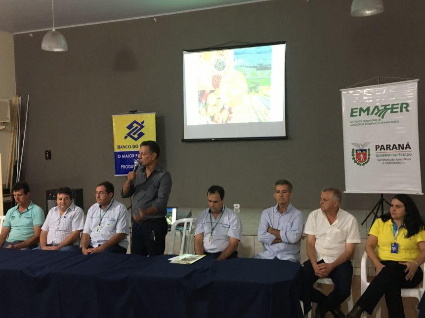 Na abertura do evento, o prefeito Ene Benedito Gonçalves (PDT) enalteceu a importância de fomentar o setor mais produtivo no município e na região