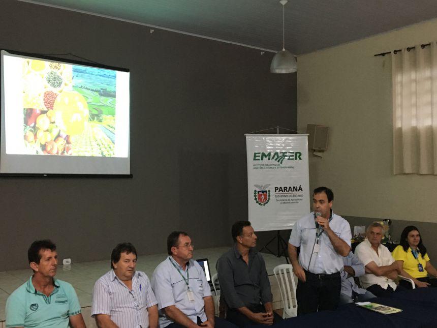 Cristovon Ripol, coordenador regional do Instituto Emater em Apucarana