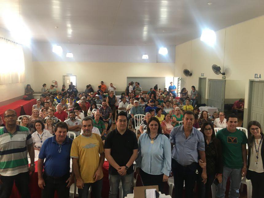 Abertura do programa registrou mais de 150 pessoas