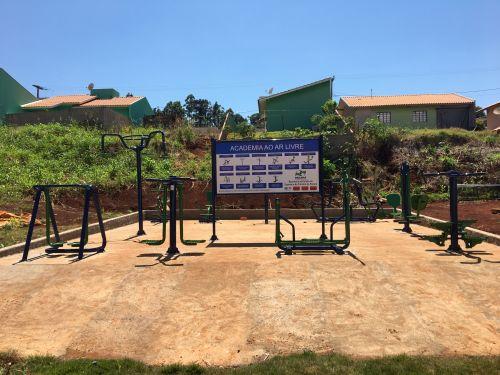 Academia Ao Ar Livre - Jardim Morada do Sol