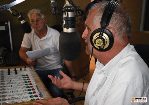 Claudemir Tozzi, em entrevista a Rádio Comunitária