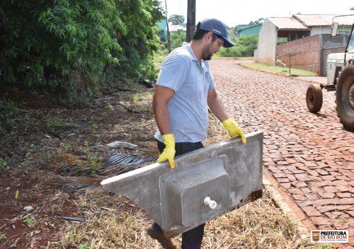 Comitê de Combate à dengue realiza mutirão de limpeza