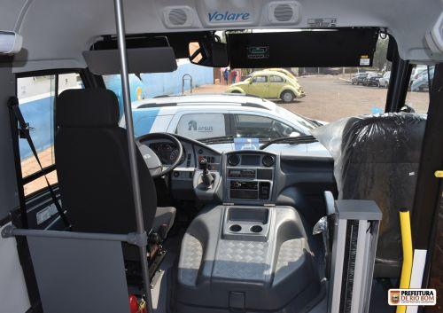 Rio Bom recebe novo ônibus para a saúde
