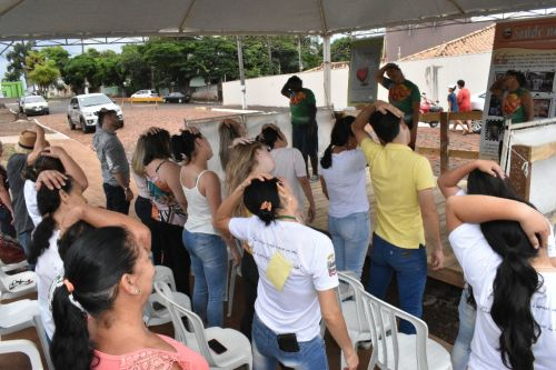 Comunidade adere a evento dinâmico para melhor cuidar da qualidade de vida da população idosa do município