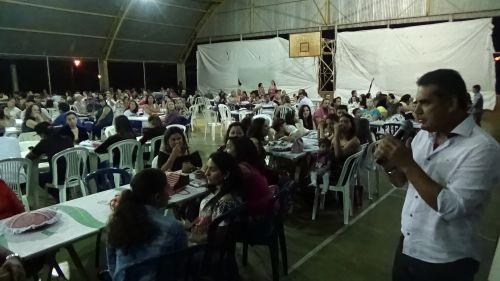 Ananias, assessor do deputado estadual Tiago Amaral (PSB), compareceu ao evento