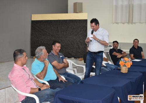 Rio Bom recebe deputado federal Sérgio Souza