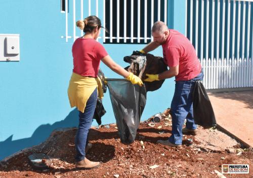 Comitê de Combate à Dengue realiza mutirão mensal de limpeza
