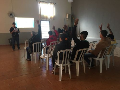 Prefeitura fomenta associação de catadores no município