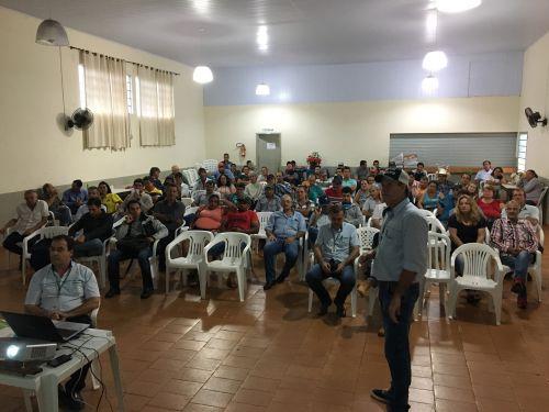 Mauro Rodrigues, técnico agrícola do Emater de Jandaia do Sul