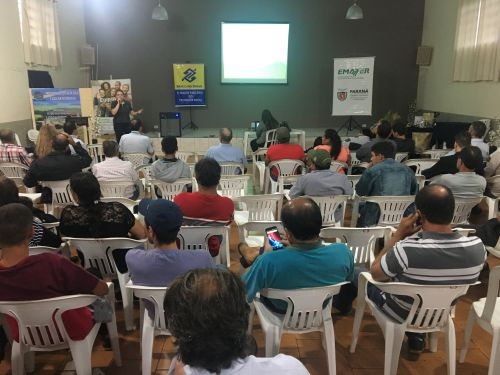 Emater e Prefeitura fomentam atividades agrícolas no município