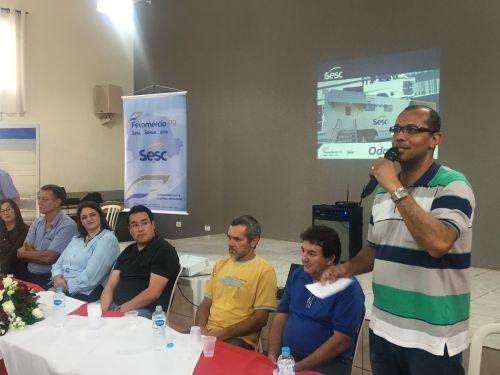 O presidente da Autarquia Municipal de Saúde (AMS-RB), Luciano Cesar Ferreira, também demonstrou a felicidade em receber o unidade móvel em Rio Bom