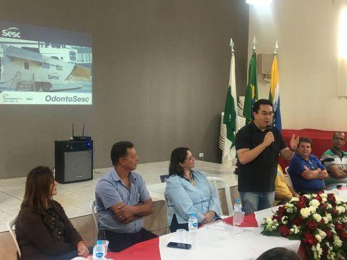 Aquiles Takeda FIlho, prefeito de Marilândia do Sul e presidente do Cisvir
