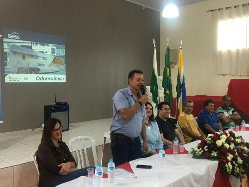 O prefeito Ene fala da emoção em receber esse programa em Rio Bom