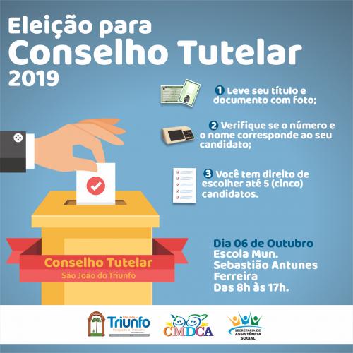 Eleição para o Conselho Tutelar em São João do Triunfo