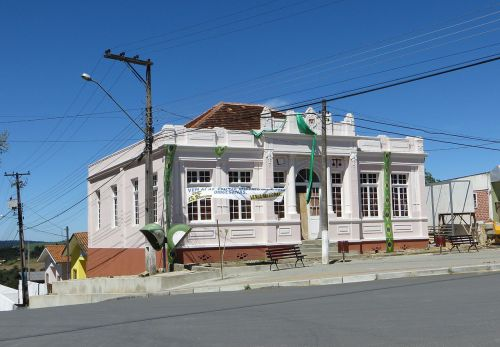 Antiga Prefeitura Municipal, construída em 1927