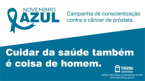 Secretaria de Saúde realiza ações de prevenção ao câncer de próstata no Novembro Azul