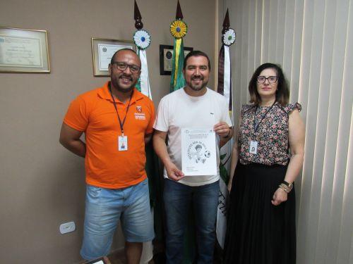 """São João do Triunfo será sede da etapa regional dos Jogos Escolares do Paraná (""""Pía Bom de Bola"""") em 2020."""