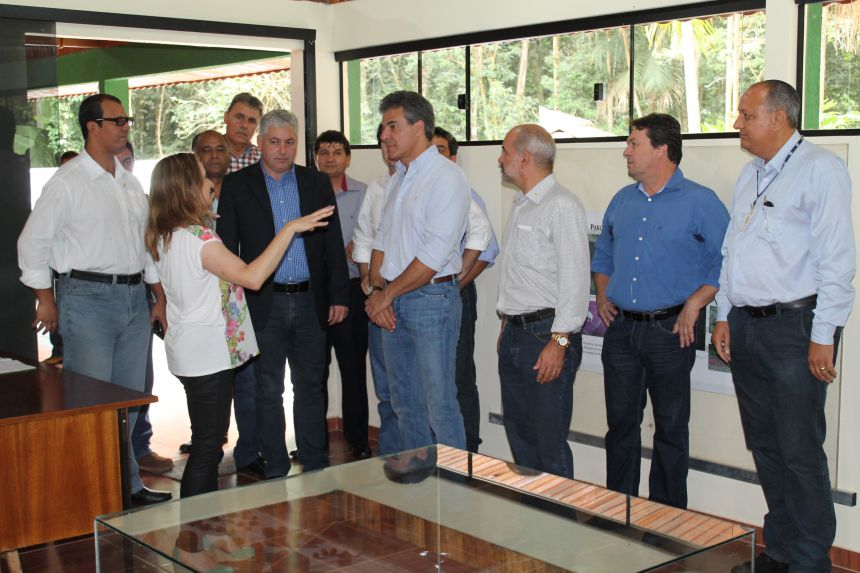 Visita do Governador ao Parque Estadual Vila Rica do Espírito Santo