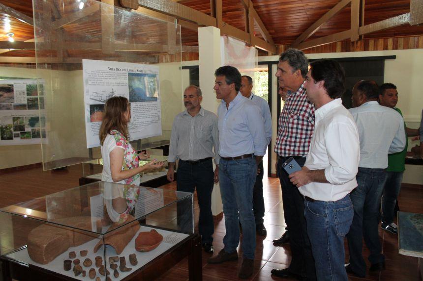 Visita do Governador ao Parque Estadual Vila Rica do Espírito Santo