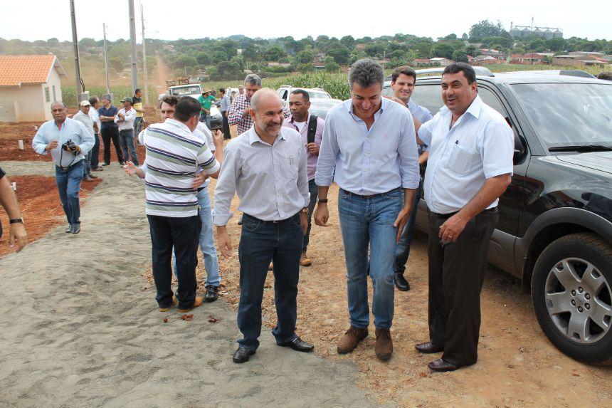 Inauguração das 37 Casas do Conjunto Vila Verde
