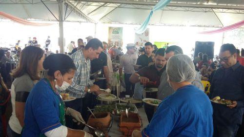 """Fotos da realização do nosso  Prato tipico """"Peixe na Cerâmica"""""""