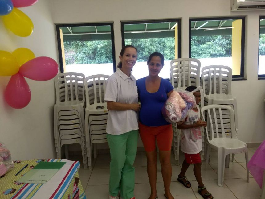 Secretaria de Assistência Social e Cras realizam primeiro chá de bebê de 2018