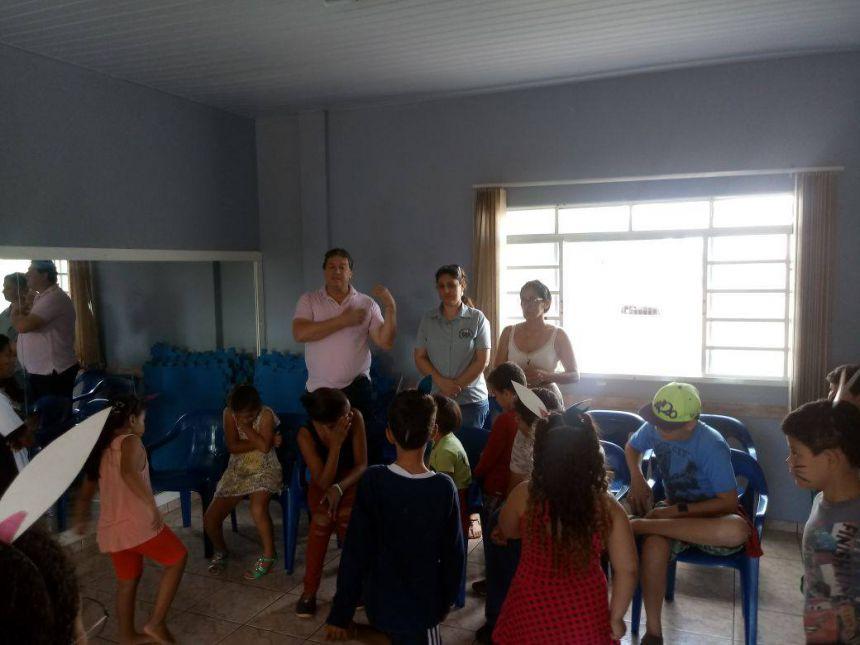 Assistência Social promove Páscoa no Lar da Criança Jesus Amigo