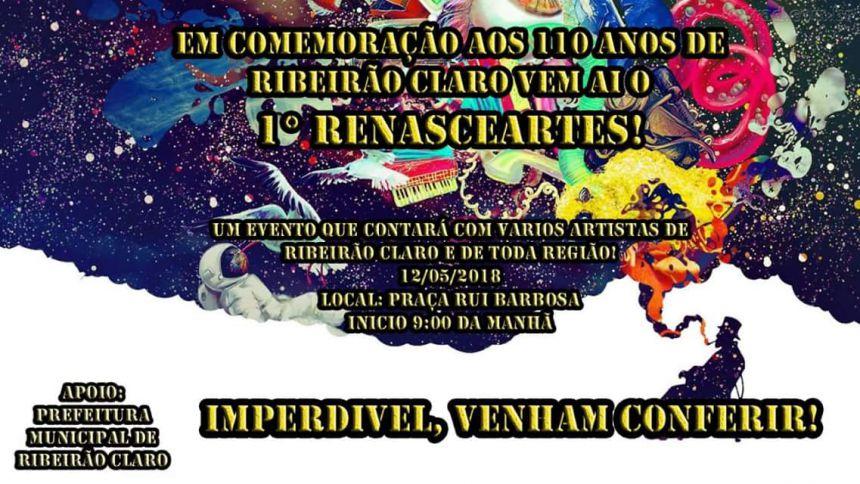 Comemoração de 110 anos de Ribeirão Claro terá 1º Renasceartes