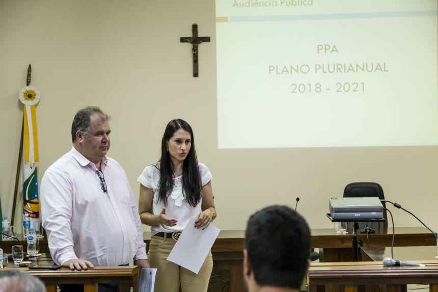 PPA é apresentado em audiência pública em Ribeirão Claro