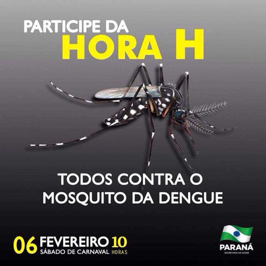 Hora H contra a dengue - É amanhã!!!