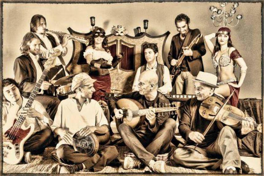 Cultura traz show com mistura de música judaica e cigana