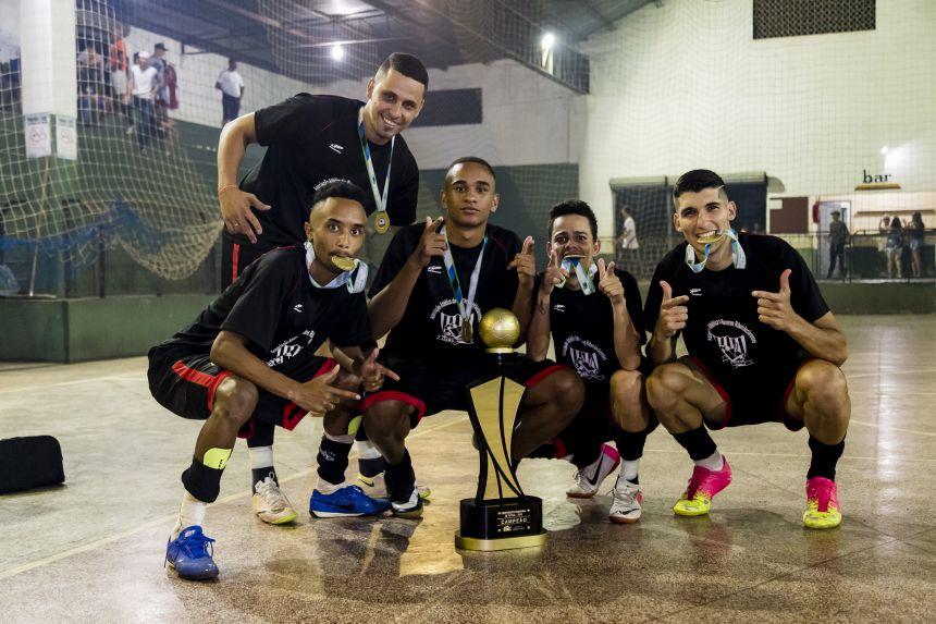AAMR Veteranos vence Campeonato Municipal de Futsal