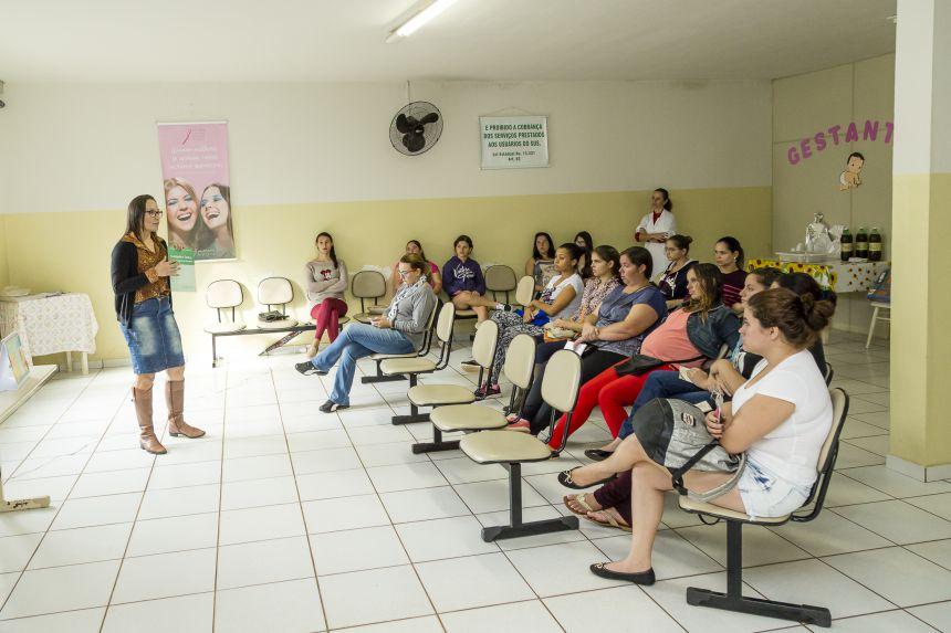 Secretaria de Saúde promove palestra para gestantes