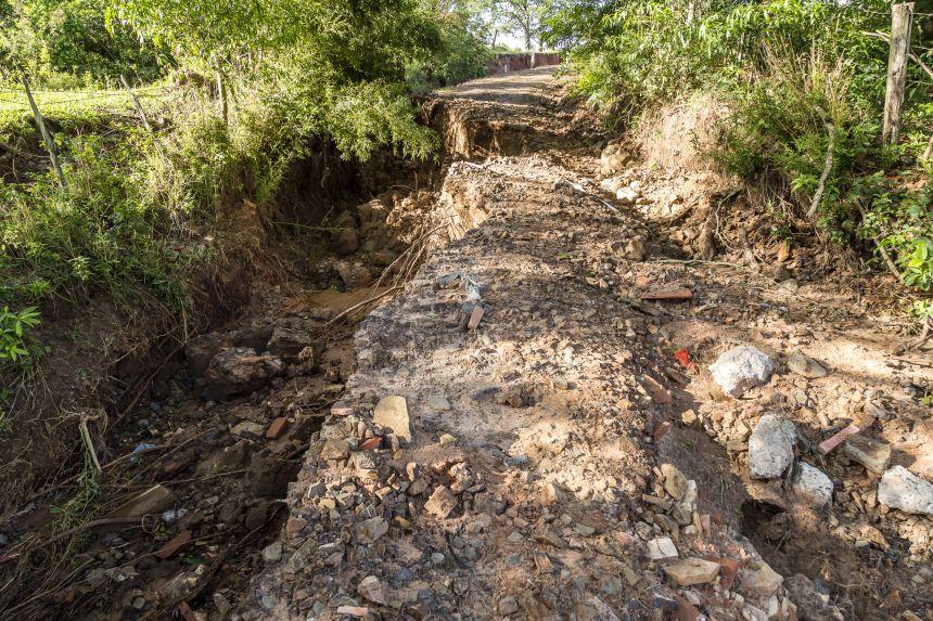 Prefeito pede prioridade na recuperação de estradas rurais após chuvas
