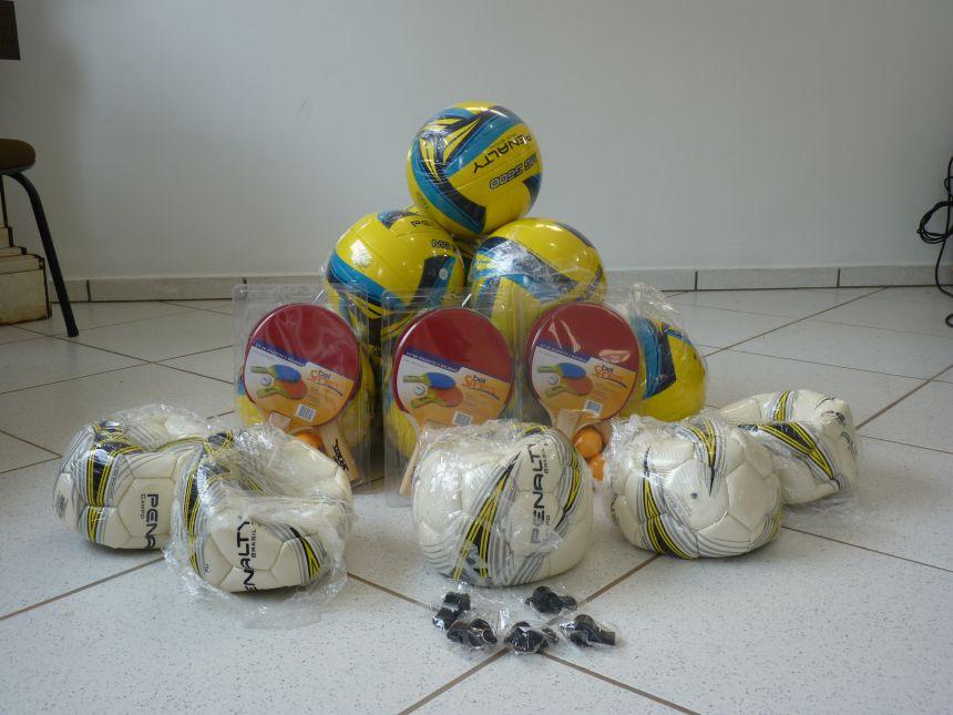 Secretaria de Turismo, Meio Ambiente, Esportes e Lazer adquire equipamentos esportivos