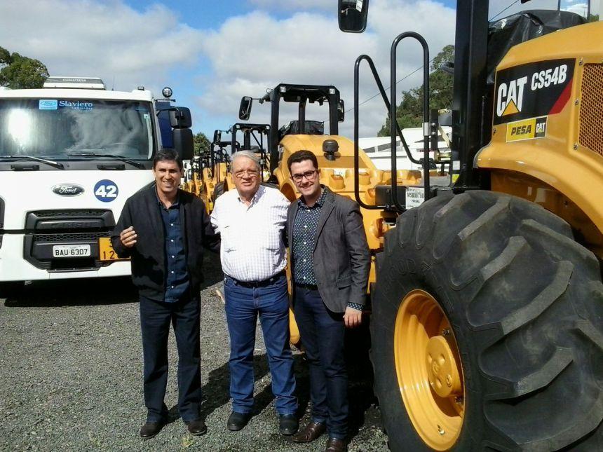 Mario Pereira traz Patrulha Rural e consegue verba para recuperação do Matadouro Municipal