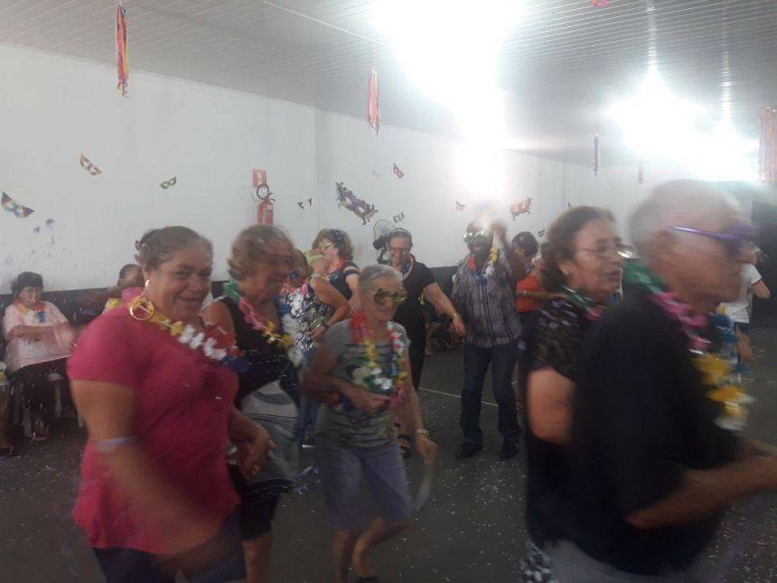 Carnaval Grupo de Idosos Conviver