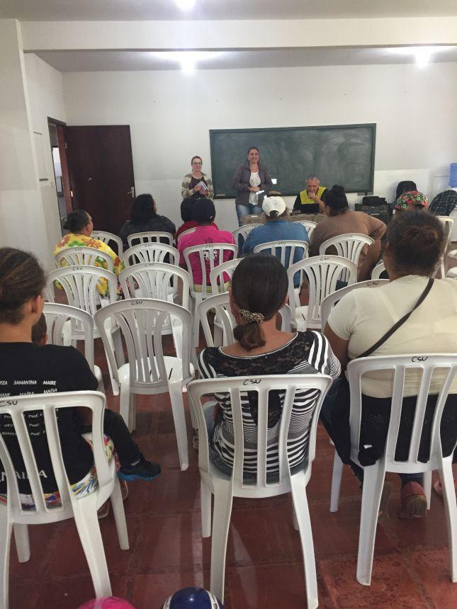 Operação Rondon promove atividade com beneficiários do Programa Bolsa Família.