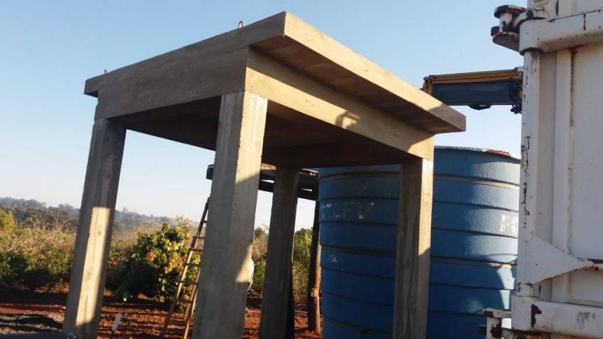 Bairro rural Sombreiro recebe melhorias no abastecimento de água
