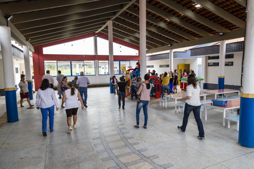 Super Creche é inaugurada oficialmente e já recebe primeiros alunos