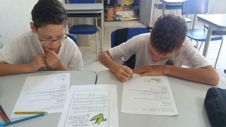 Cultivo de milho é tema de projeto da Escola Correia Defreitas para o Agrinho