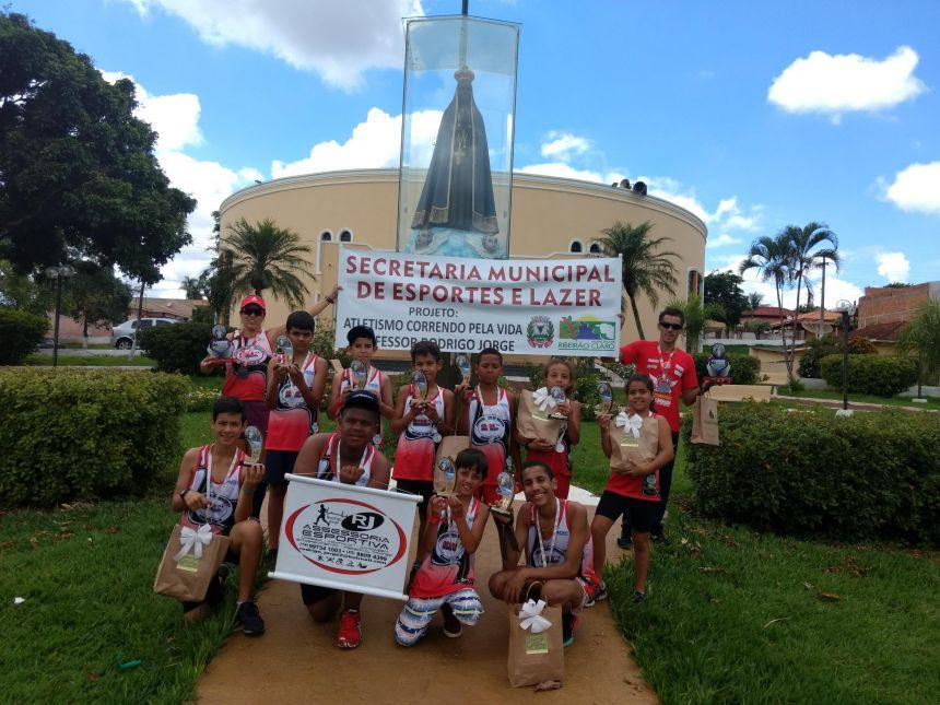 Equipe da Ascor se destaca em prova pedestre em Barra do Jacaré
