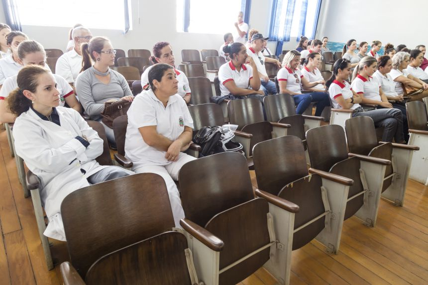 SIPAT 2018 - Palestra servidores da Secretaria de Saúde