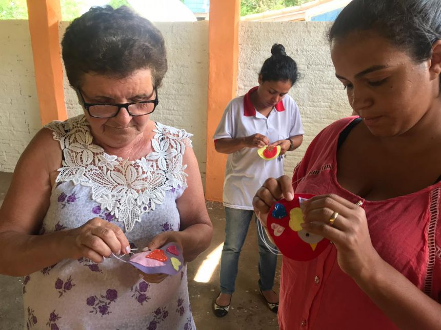 Cras Itinerante visita bairro rural São Roque