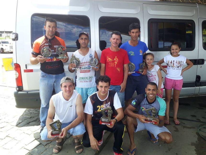 AAMR conquista sete troféus em prova de Pinhalão