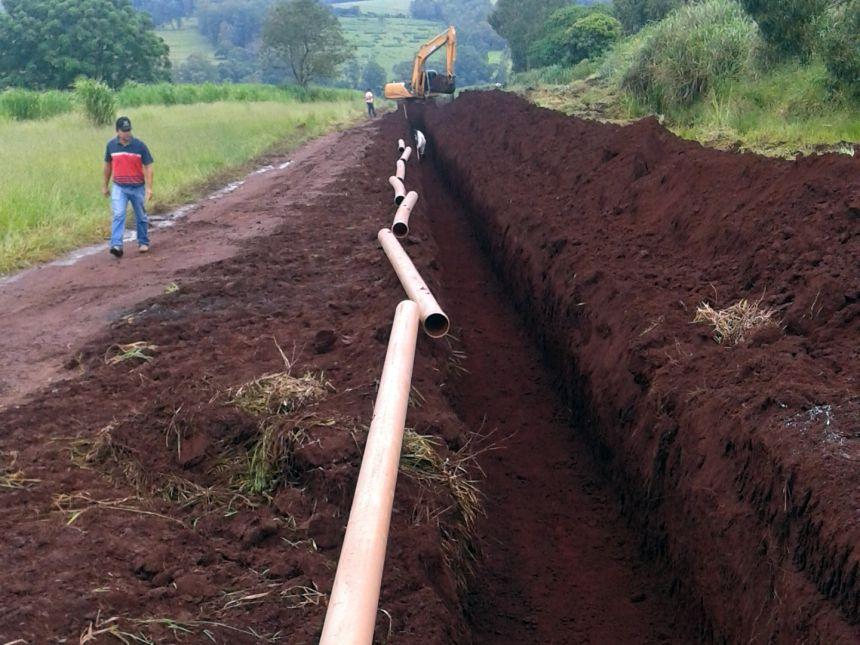 SAAE concluiu obras para melhorar abastecimento no Residencial Monte Claro e zona rural