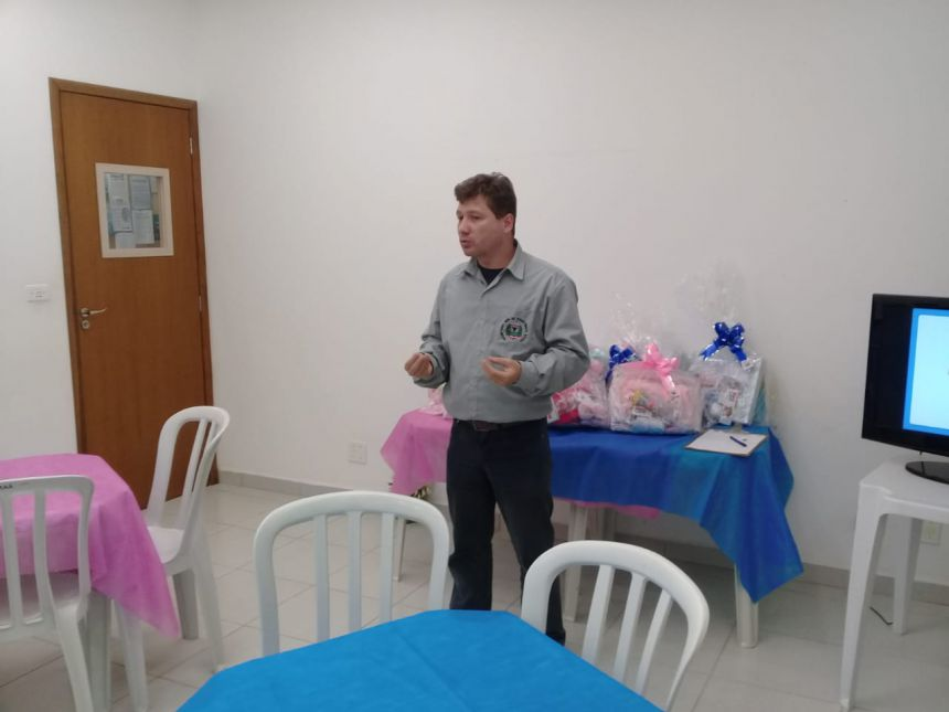 Cras de Ribeirão Claro promove Chá de Bebê