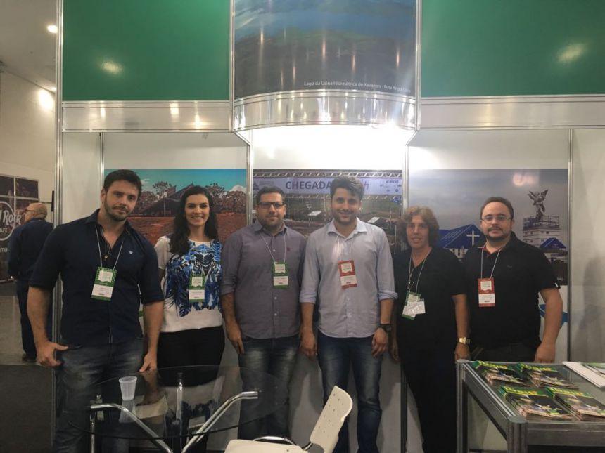 SECRETARIA DE TURISMO, MEIO AMBIENTE, ESPORTES E LAZER PARTICIPA DO 23º SALÃO DO TURISMO