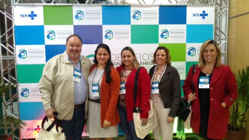 Ribeirão Claro participa do 35º Congresso Estadual de Secretários Municipais de Saúde do Paraná