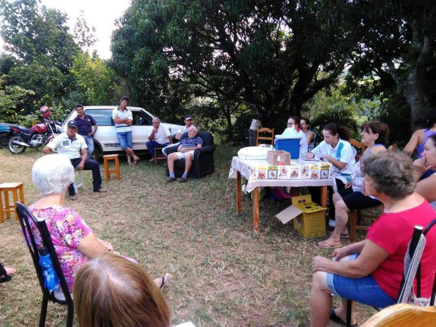 Cras Itinerante leva programas da Prefeitura ao Bairro Rural Cateto